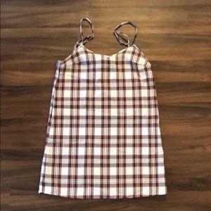Urban Renewal Plaid Slip Dress